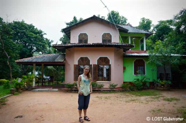 Golden Rainbow Guesthouse v Dambulla, Srí Lanka