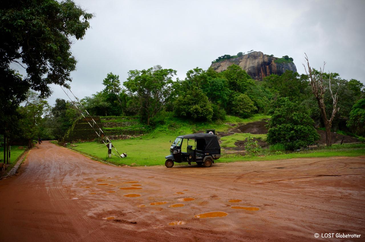 Lví skála Sigiriya , Srí Lanka